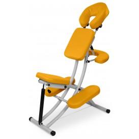 Masážní židle Office Reh hliníkový (plynová pružina)