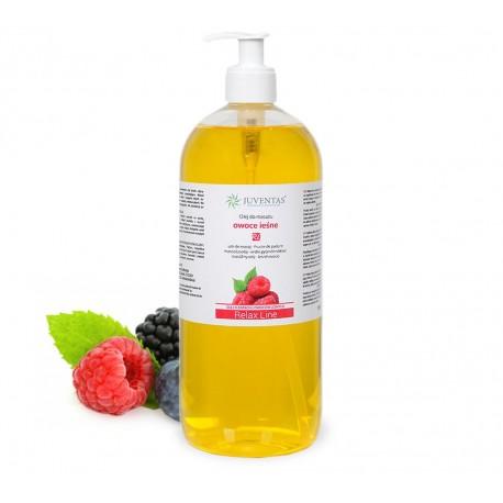 Masážní olej RELAX LINE - lesní ovoce - 1000ml