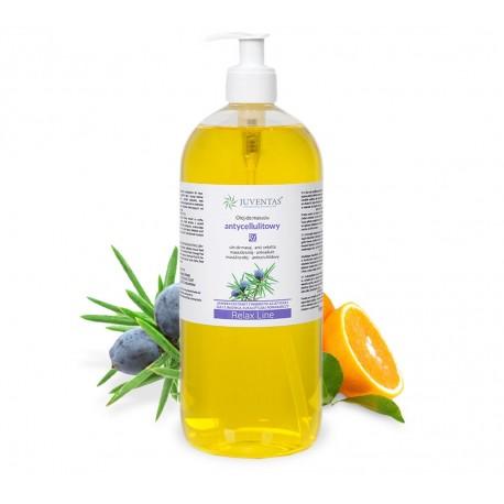 Masážní olej RELAX LINE - proti celulitidě - 1000ml