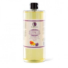 Masážní olej Sara Beauty Spa -  mango a levandule 1000 ml