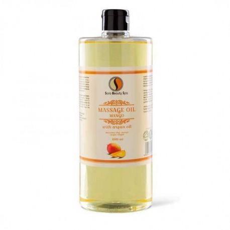 Masážní olej Sara Beauty Spa -  mango 1000 ml
