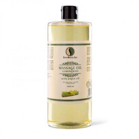 Masážní olej Sara Beauty Spa -  citronová tráva 1000 ml