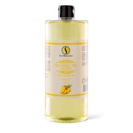 Masážní olej Sara Beauty Spa -  ananas 1000 ml
