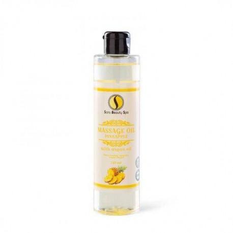 Masážní olej Sara Beauty Spa -  ananas 250 ml