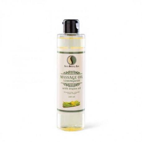 Masážní olej Sara Beauty Spa -  citronová tráva 250 ml