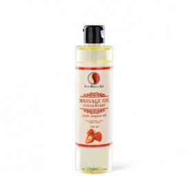 Masážní olej Sara Beauty Spa -  jahoda 250 ml