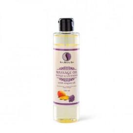 Masážní olej Sara Beauty Spa - mango a levandule 250 ml