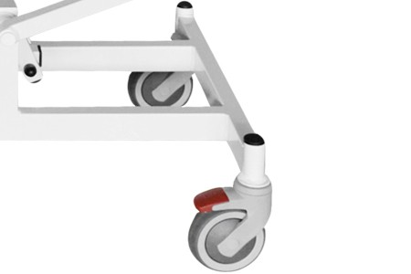 Kolečka s brzdou - průměr kol 12,5 cm